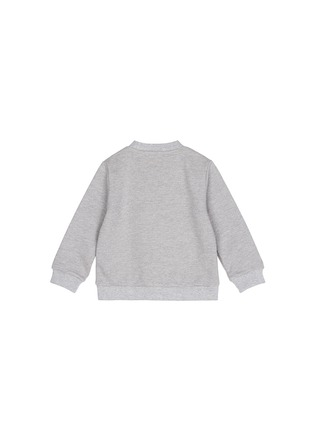 Figure View - Click To Enlarge - Ground Zero - 'Future Anna' cropped cotton kids sweatshirt