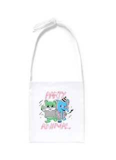 Ground-Zero 'Party Animal' shopping tote