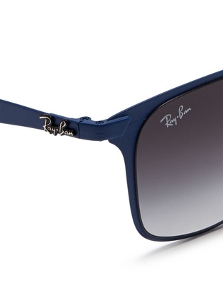 Detail View - Click To Enlarge - Ray-Ban - 'Wayfarer Flat Metal' sunglasses