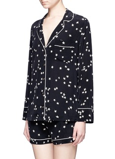 Equipment 'Lillian' star print silk pyjama set