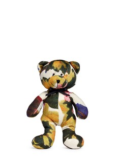 Ms MIN Abstract floral print teddy bear