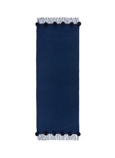Ms MINPompom wool-cashmere scarf