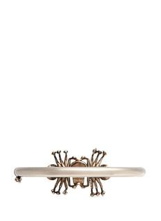 ALEXANDER MCQUEENCrystal spider skull bracelet