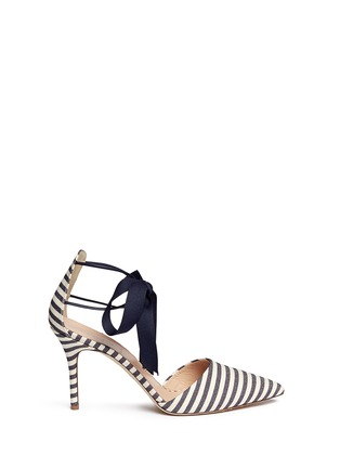 Main View - Click To Enlarge - J CREW SHOES - 'Elsie' bow-tie pumps