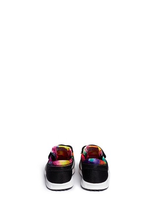 Back View - Click To Enlarge - Adidas - 'Los Angeles CF' camouflage print mesh toddler sneakers