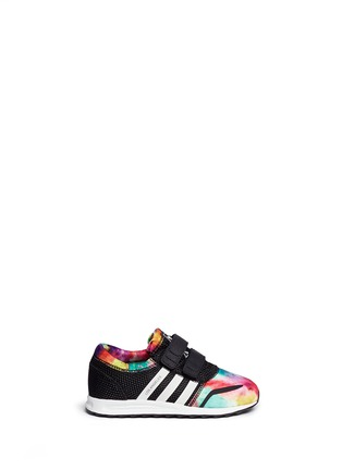 Main View - Click To Enlarge - Adidas - 'Los Angeles CF' camouflage print mesh toddler sneakers