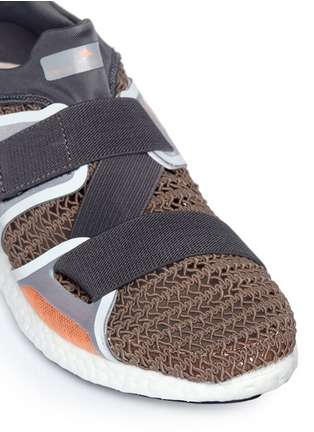 Detail View - Click To Enlarge - Adidas By Stella Mccartney - 'Pureboost' mesh window running sneakers