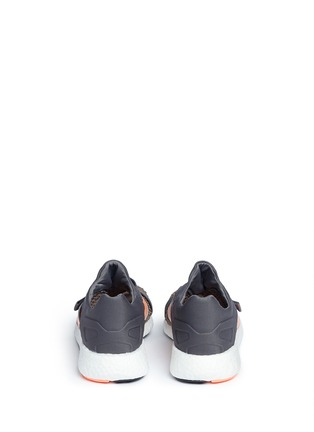 Back View - Click To Enlarge - Adidas By Stella Mccartney - 'Pureboost' mesh window running sneakers