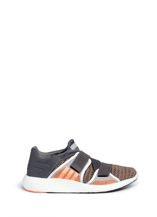 Main View - Click To Enlarge - Adidas By Stella Mccartney - 'Pureboost' mesh window running sneakers