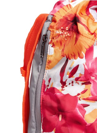Detail View - Click To Enlarge - Adidas By Stella Mccartney - 'BP-Shopper PR' floral print backpack