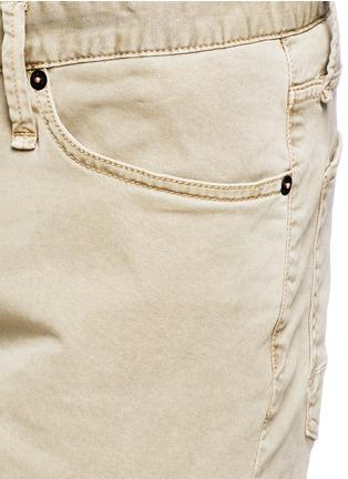 细节 - 点击放大 - DENHAM - 微弹性棉质短裤