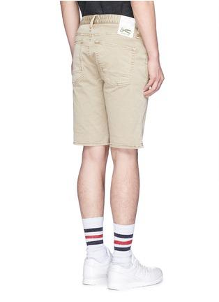 背面 - 点击放大 - DENHAM - 微弹性棉质短裤