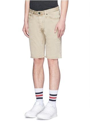 正面 -点击放大 - DENHAM - 微弹性棉质短裤