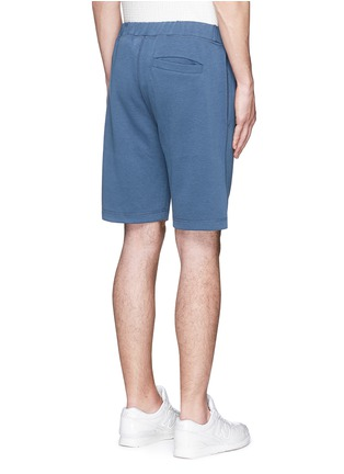 Back View - Click To Enlarge - Denham - 'Roy' cotton sweat shorts