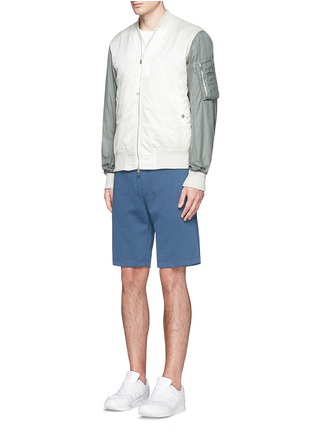 Figure View - Click To Enlarge - Denham - 'Roy' cotton sweat shorts