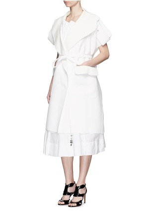 Maticevski - 'Breathtaking' sleeveless double face coat