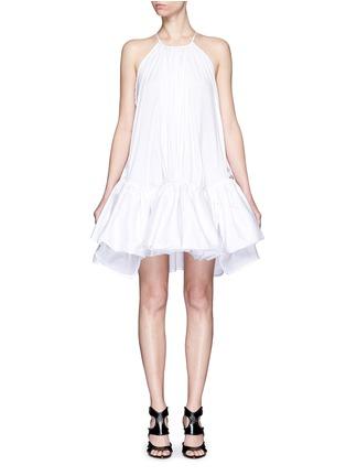 首图 - 点击放大 - MATICEVSKI - TONALIST褶裥荷叶边混棉连衣裙