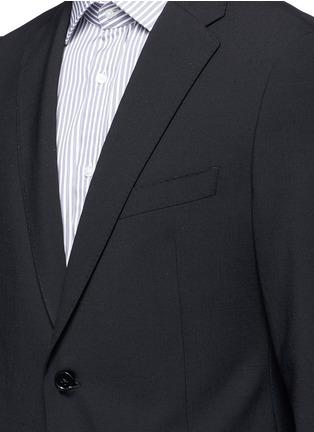 细节 - 点击放大 - ARMANI COLLEZIONI - M LINE羊毛西服套装