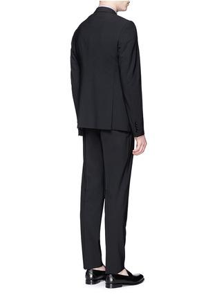 背面 - 点击放大 - ARMANI COLLEZIONI - M LINE羊毛西服套装