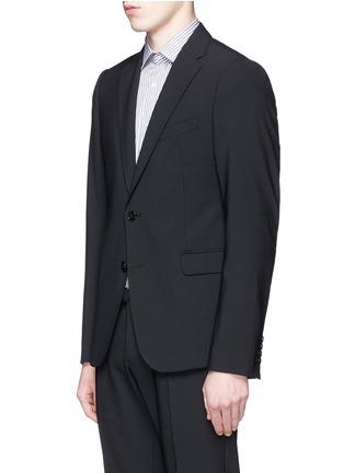 正面 -点击放大 - ARMANI COLLEZIONI - M LINE羊毛西服套装