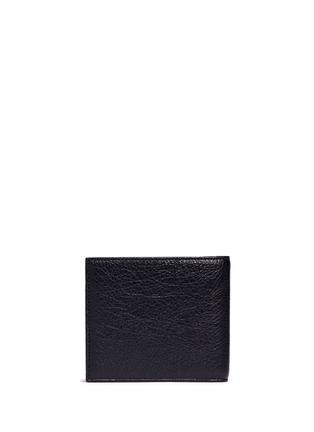 背面 - 点击放大 - BALENCIAGA - 'Arena' stud grainy leather bifold wallet