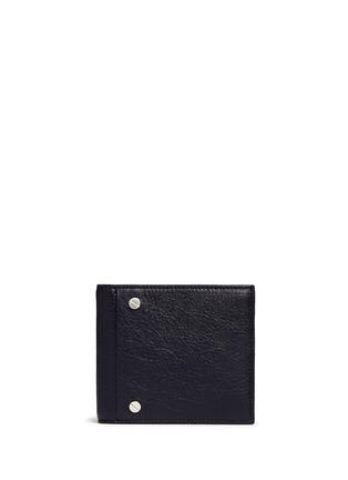 首图 - 点击放大 - BALENCIAGA - 'Arena' stud grainy leather bifold wallet