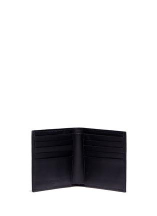 模特儿示范图 - 点击放大 - BALENCIAGA - 'Arena' stud grainy leather bifold wallet