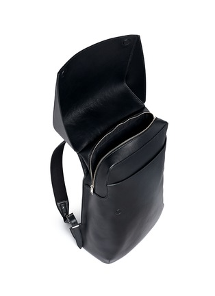 Detail View - Click To Enlarge - Balenciaga - 'Phileas' leather backpack