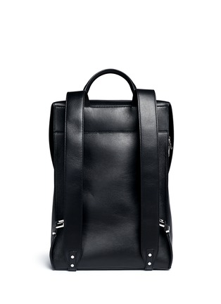 Back View - Click To Enlarge - Balenciaga - 'Phileas' leather backpack