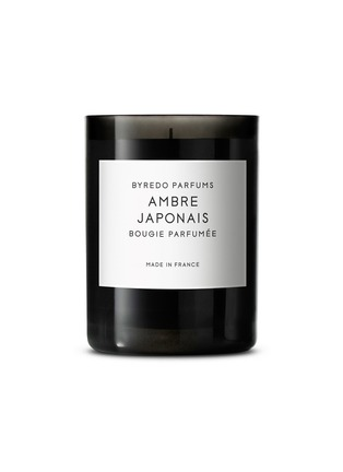 Main View - Click To Enlarge - BYREDO - Ambre Japonais fragranced candle 240g