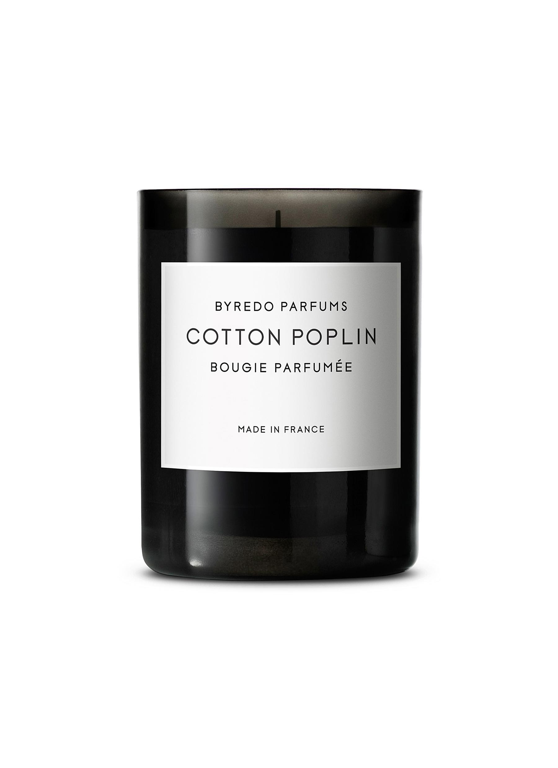 Cotton Poplin Fragranced Candle 240g by BYREDO