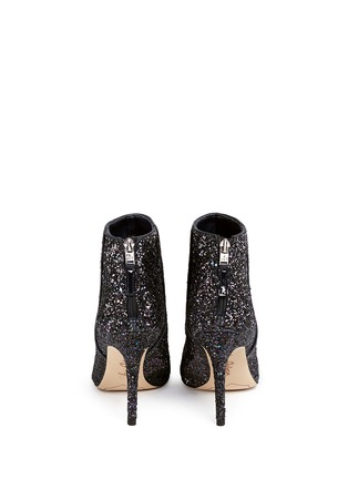 Back View - Click To Enlarge - Sam Edelman - 'Kourtney' coarse glitter ankle boots