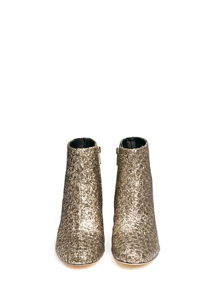 Figure View - Click To Enlarge - Sam Edelman - 'Edith' plaid tweed glitter ankle boots