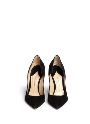 Figure View - Click To Enlarge - Paul Andrew - 'Manhattan' suede pumps