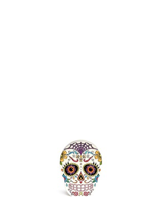 Main View - Click To Enlarge - Charlotte Olympia - 'Calavera' skull crystal Perspex clutch