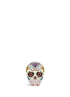 CHARLOTTE OLYMPIA'Calavera' skull crystal Perspex clutch