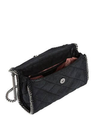 Detail View - Click To Enlarge - Stella McCartney - 'Falabella' mini quilted crossbody bag