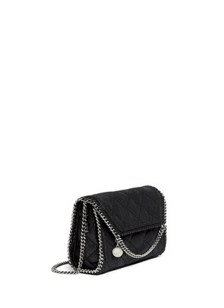 Front View - Click To Enlarge - Stella McCartney - 'Falabella' mini quilted crossbody bag