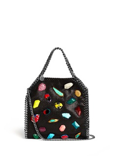 STELLA MCCARTNEY 'Falabella' mini gemstone chain tote