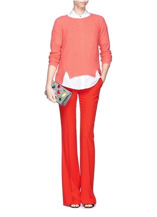 Figure View - Click To Enlarge - Stella McCartney - 'Falabella' mini gemstone crossbody bag
