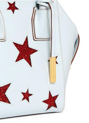 Detail View - Click To Enlarge - Stella McCartney - 'Cavendish' mini glitter star tote