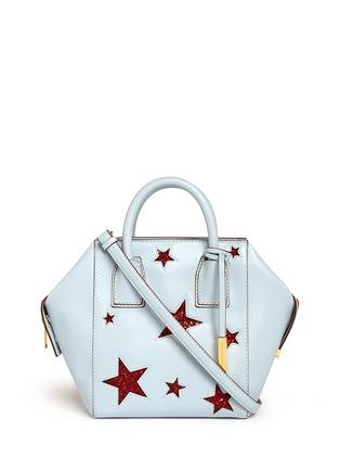 Main View - Click To Enlarge - Stella McCartney - 'Cavendish' mini glitter star tote