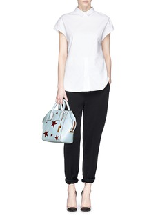 STELLA MCCARTNEY 'Cavendish' mini glitter star tote