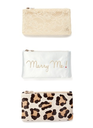 - Charlotte Olympia - 'Marry Me' Pandora box clutch