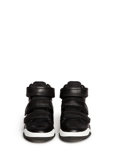 ASH 'Fire' Velcro strap leather sneakers
