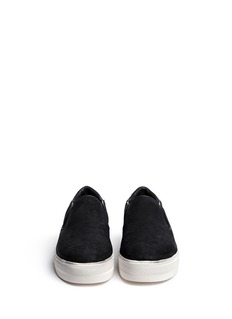 ASH 'Jungle' suede slip-ons