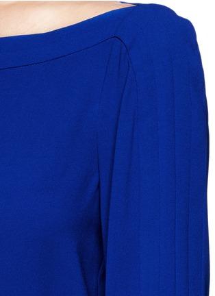 Detail View - Click To Enlarge - DIANE VON FURSTENBERG - 'Cynthia' crepe jumpsuit