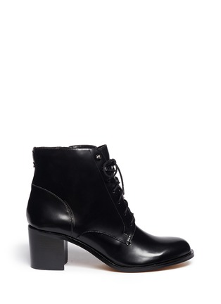 Main View - Click To Enlarge - Sam Edelman - 'Jardin' lace-up leather boots