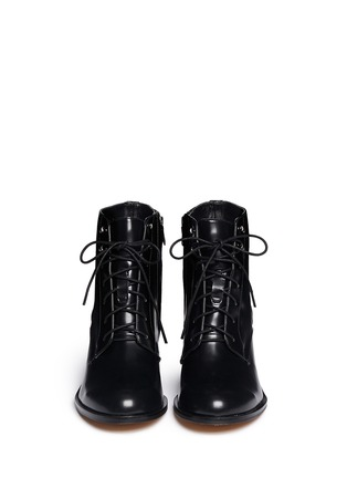 Figure View - Click To Enlarge - Sam Edelman - 'Jardin' lace-up leather boots