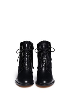 SAM EDELMAN'Jardin' lace-up leather boots
